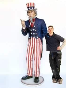 Giant Uncle Sam Event Prop Hire