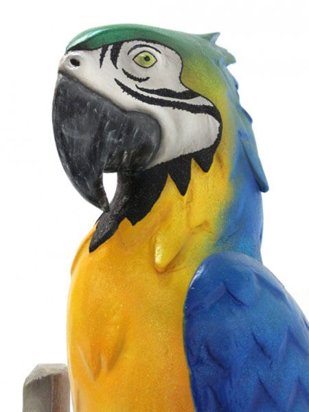 Giant Parrot Prop (Blue/Yellow)