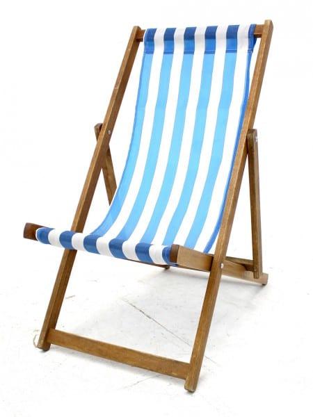 sc 1 st  Event Prop Hire & Traditional Deck Chair - Blue | Event Prop Hire