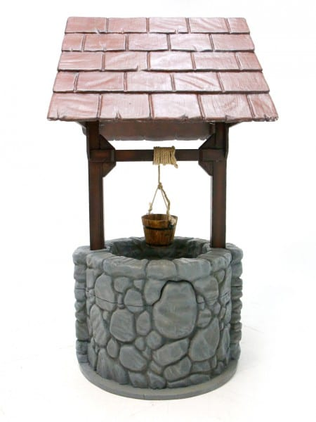 wishing well event prop hire