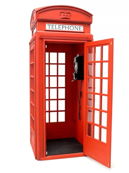 British Red Telephone Box