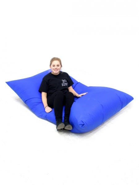 Miraculous Giant Blue Beanbag Event Prop Hire Pdpeps Interior Chair Design Pdpepsorg