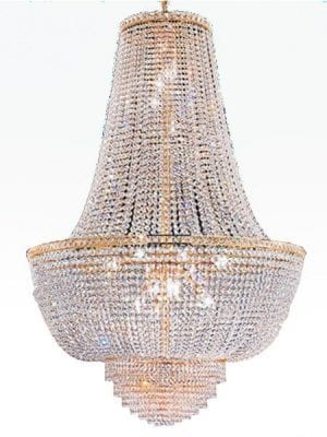 Chandeliers hire event props event prop hire crystal chandelier aloadofball Image collections