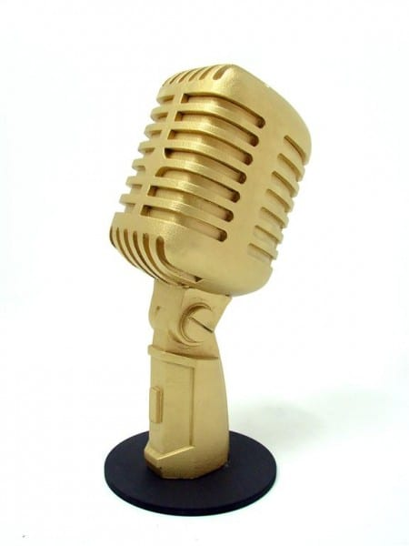 Giant 50 S Style Microphone Event Prop Hire