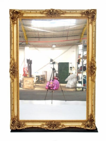 Giant Gold Frame Event Prop Hire