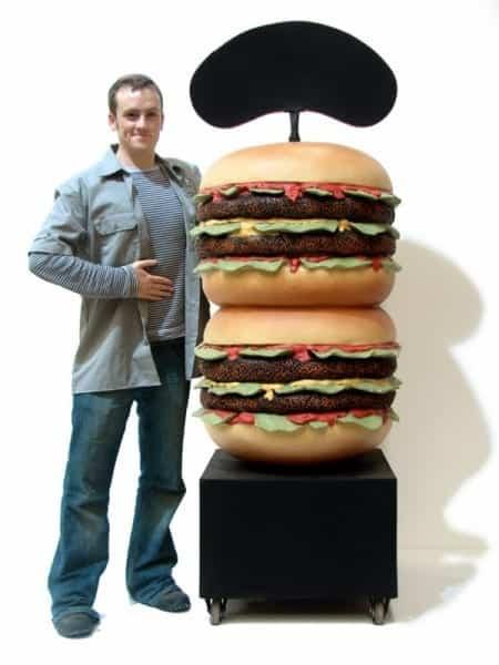 Giant Hamburger Prop Event Prop Hire