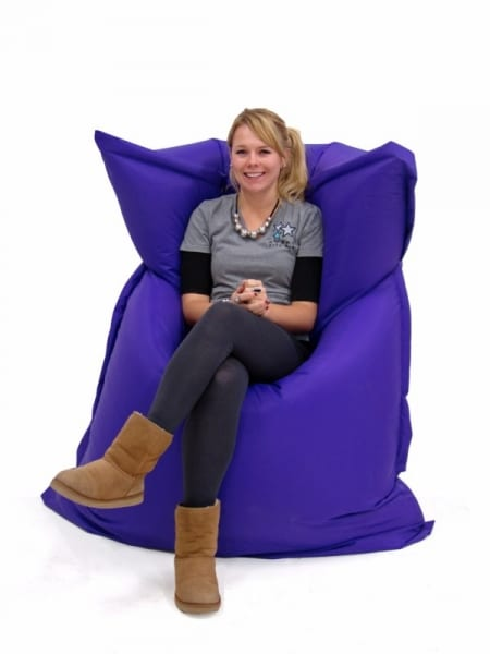 Miraculous Giant Beanbag Purple Event Prop Hire Pdpeps Interior Chair Design Pdpepsorg