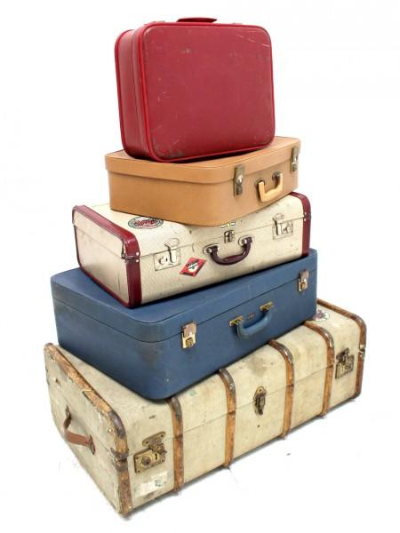 Vintage Travel Suitcase