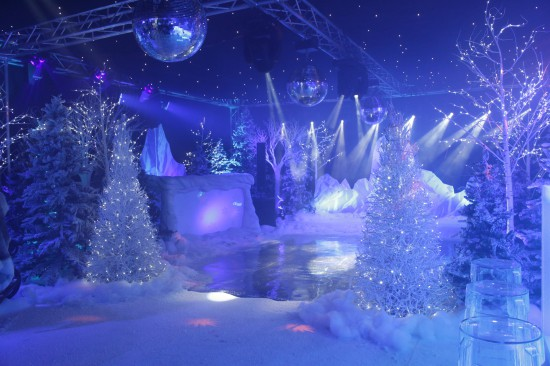 Winter Wonderland Christmas Theme.Winter Wonderland Themed Staff Christmas Party Gallery