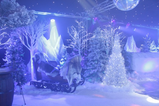 Winter Wonderland Themed Staff Christmas Party Gallery Theme Ideas Event Prop Hire