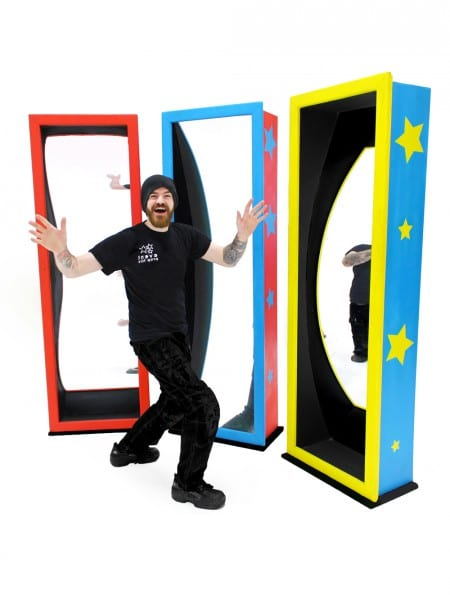 Circus Crazy Mirrors (Three Set)