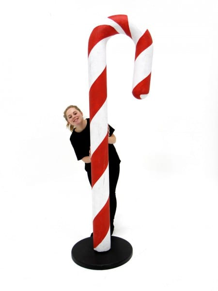 Giant Candy Cane Prop Event Prop Hire