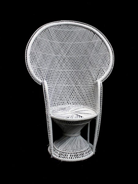 Pleasant Large Peacock Wicker Chair Event Prop Hire Cjindustries Chair Design For Home Cjindustriesco