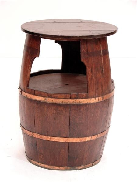 Enjoyable Barrel Table Furniture Prop Download Free Architecture Designs Scobabritishbridgeorg