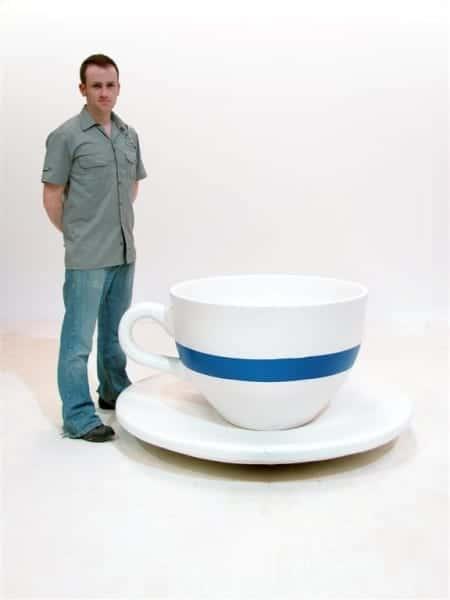 Giant Teacup And Saucer Prop