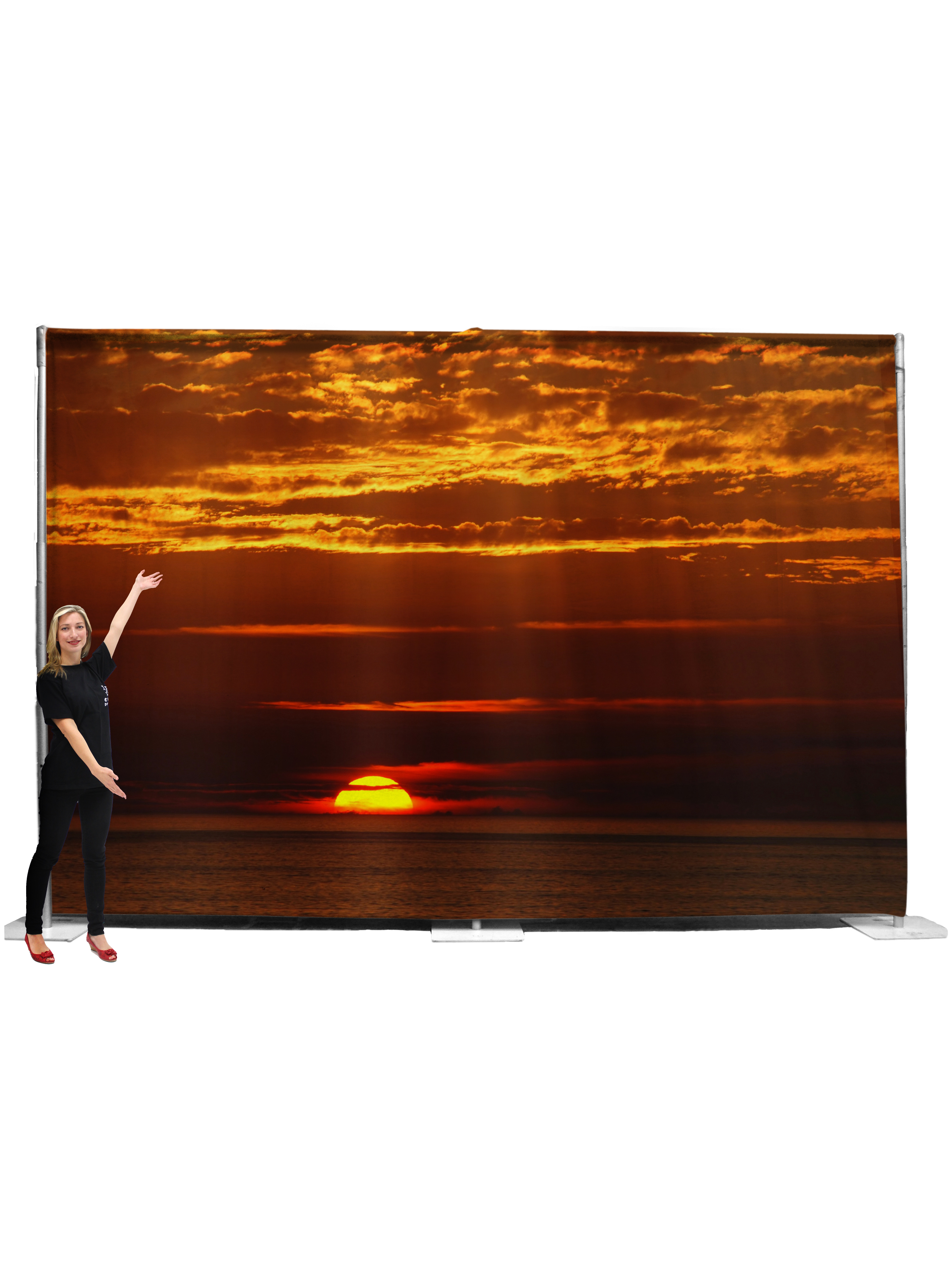 Sunset Backdrop #2 (4 5m x 3m)
