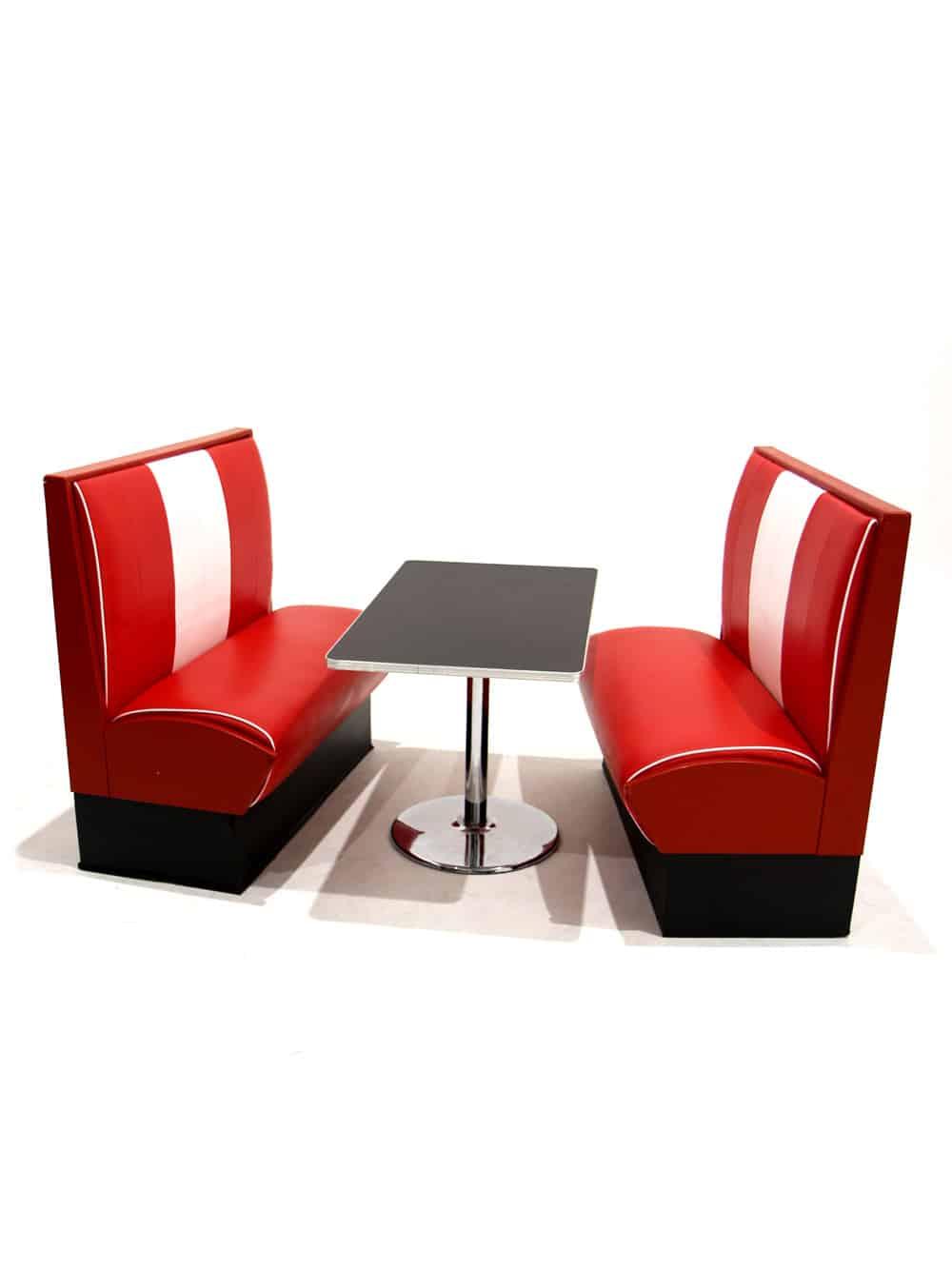 Terrific Diner Booth Creativecarmelina Interior Chair Design Creativecarmelinacom