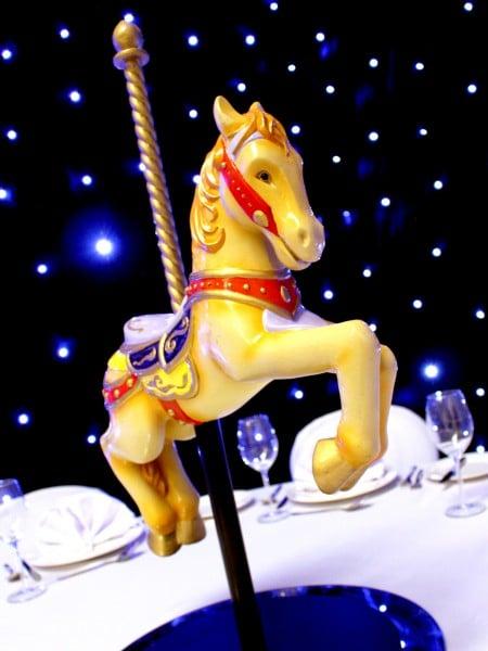 Carousel Horse Table Centre